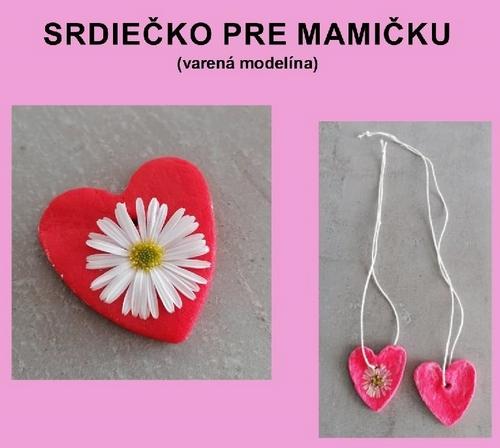 Srdiecko- modelina ku DM1...evita